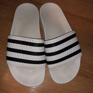 adidas Shoes - Adidas slides 5Y/6.5W